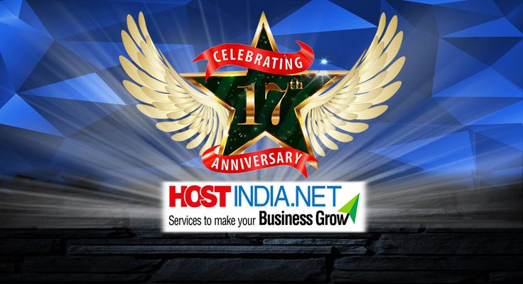 We are feeling proud to celebrate the 17th foundation day! Thanks to Hostindia.net users for being with us in this wonderful journey and will looking forward to milestone ahead. ‪#‎foundationday‬, ‪#‎celebration‬