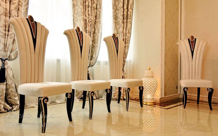 """Стулья. Белые стулья на заказ от """"Buena Vida"""".  #мебельназаказ #мебелькиев #сделановукраине  #стулья"""