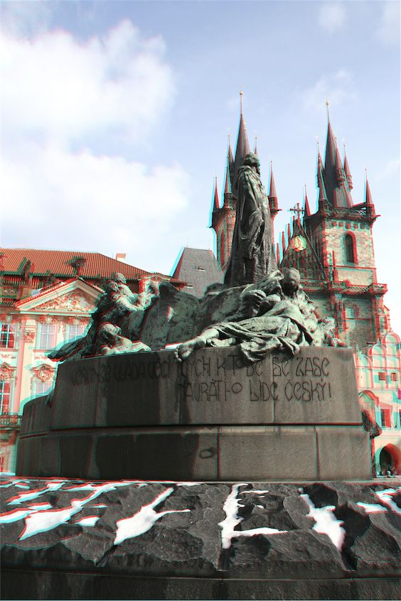 The jan hus star m sto monument in the centre of prague - Superstudio barcelona ...
