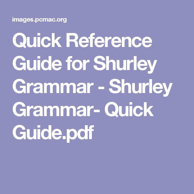 20 best teachingshurley grammar images on pinterest shurley quick reference guide for shurley grammar shurley grammar quick guidepdf fandeluxe Gallery