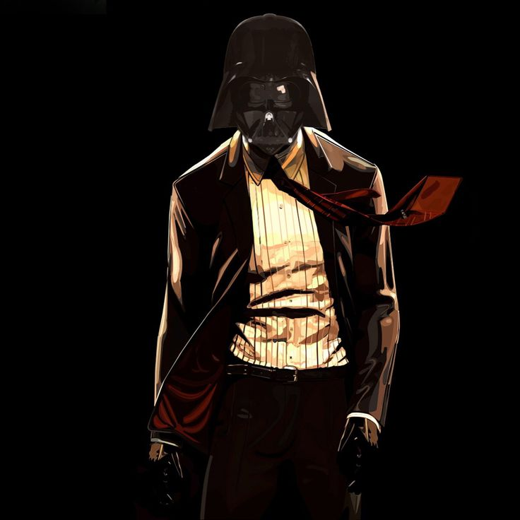 Darth Vader In A Hitman Suit IPad Wallpaper Darth vader