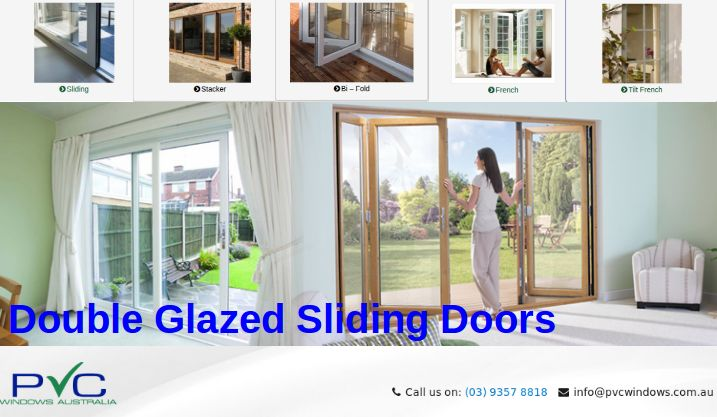 Affordable and wide range of double glazed sliding doors for your new and old home. Sliding doors is the best option to fit for narrow area in your home #DoubleGlazedSlidingDoors