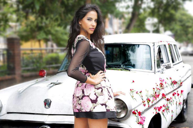 Tono y estampado de temporada #Flores y #Rosa Cuarzo
