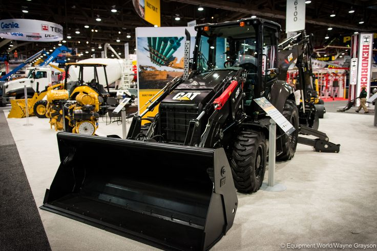 Back in Black: The story behind the Caterpillar 420F2 that you can't have (PHOTOS) | Equipment World