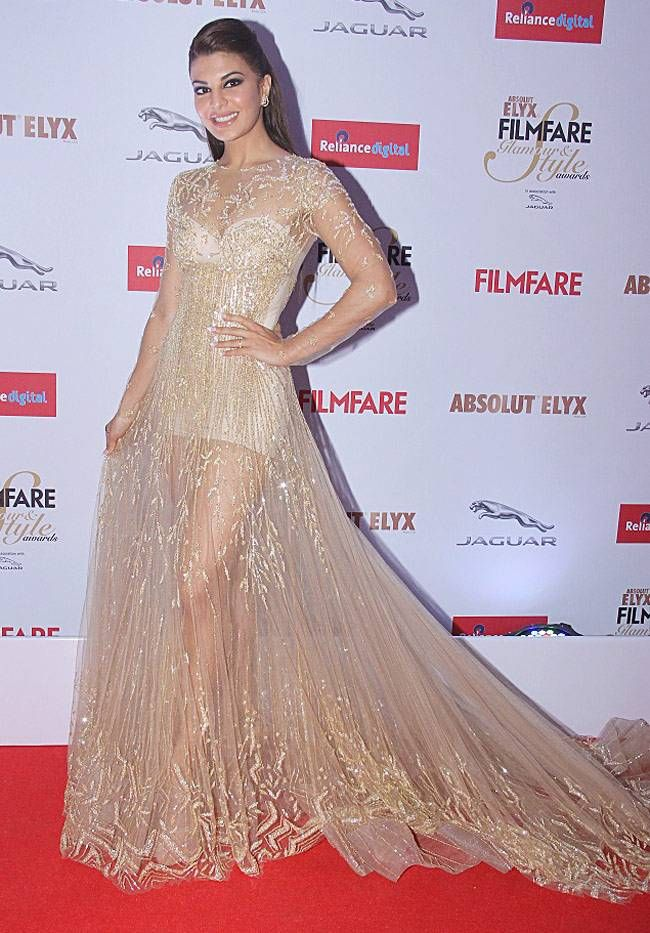 Jacqueline Fernandez at the 2015 Filmfare Glamour And Style Awards.