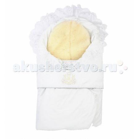 Leader Kids Конверт на выписку зимний Герб  — 1430р. -----------  Конверт-одеяло для новорожденных.   Он украшен красивым кружевом и вышивкой.    Отлично подходит для того, чтобы забрать малыша из роддома в зимнее время или для прогулки в морозный день.   Завязывается при помощи пояса. Конверт выполнен в приятных тонах.  Конверт-одеяло сделано из натуральных материалов, поэтому не вызывает аллергии у ребенка.