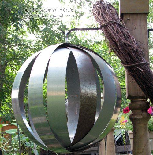 Garden Art Ideas Made From Junk Photograph | ... Ideas, Gard