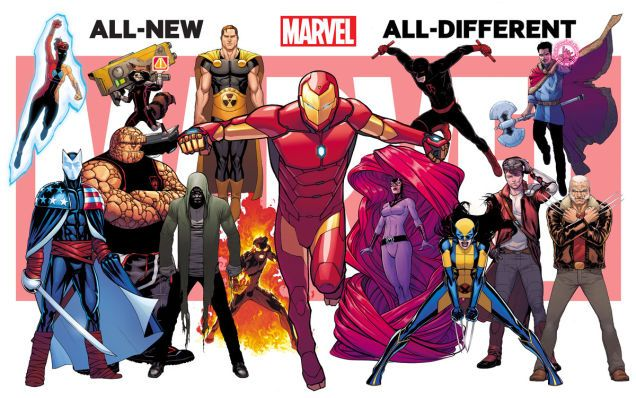"""New """"All-New, All-Different Marvel"""" Image Gives Us Something New"""