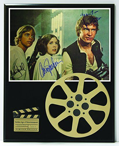 "Star Wars Cast Limited Edition Reproduction Autographed Movie Reel Display ""K1"" //Price: $74.95 & FREE Shipping //     #starwarsmeme"