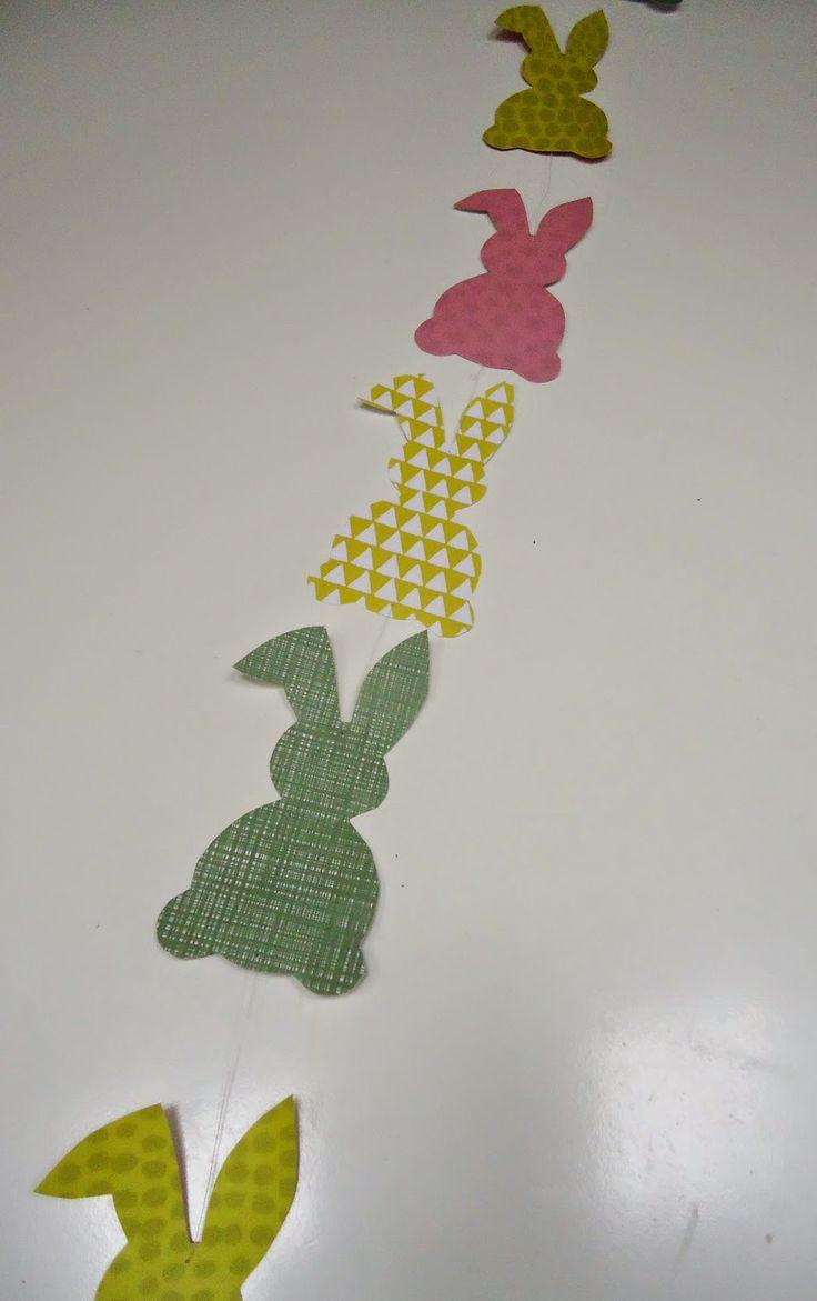 DIY slinger Pasen konijntje