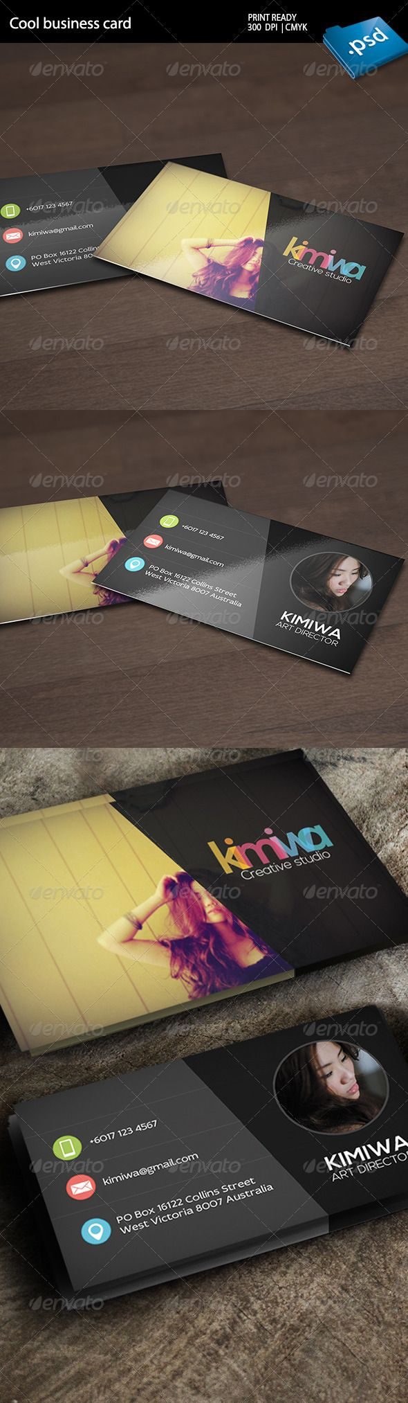amazing business card designs for your inspiration