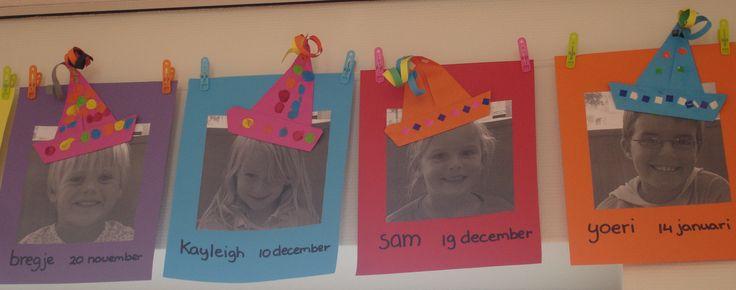Verjaardagskalender voor in de klas