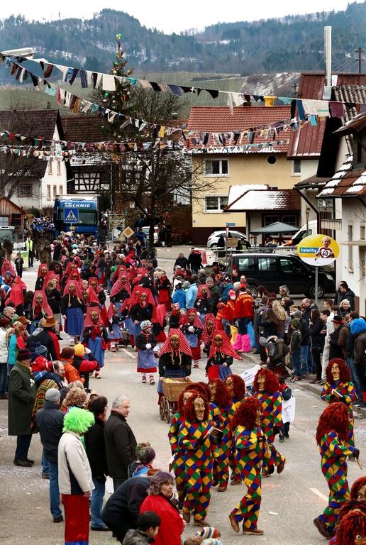 Offenburg during Fasnacht