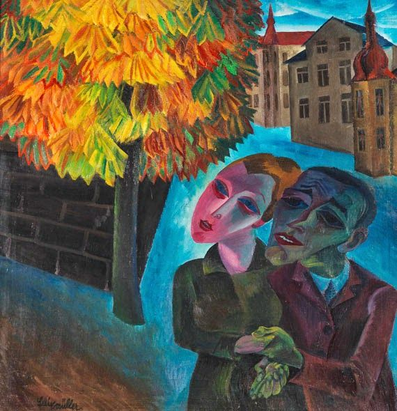 """DE ARTE EM ARTE : PINTURAS DO MOVIMENTO ARTÍSTICO ALEMÃO """"NOVA OBJETIVIDADE"""" (DIE NEUE SACHLICHKEIT) - ALEXANDER KANOLDT - RUDOLF SCHLICHTER - CHRISTIAN SCHAD - CONRAD FELIXMULLER - OTTO DIX - GEORGE GROSZ"""