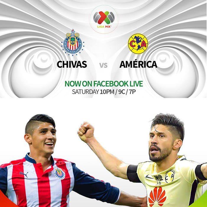 Chivas vs América, Clásico en el Clausura 2017 ¡En vivo por internet!
