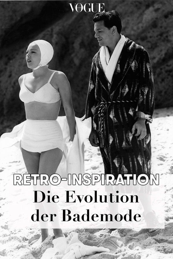 Vintage-Bilder: Die Evolution der Bademode Von biederen Badeanzügen bis zu Micro-Bikinis: Auf der Suche nach Swimwear-Inspiration beleuchten wir die Geschichte der Bademode.