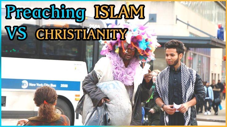 Preaching ISLAM Vs CHRISTIANITY Experiment (Social Experiment)