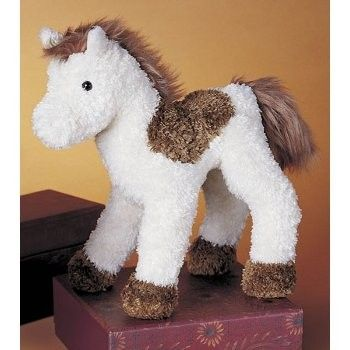 Spotty Plush Horse (Millbrook tack shop)