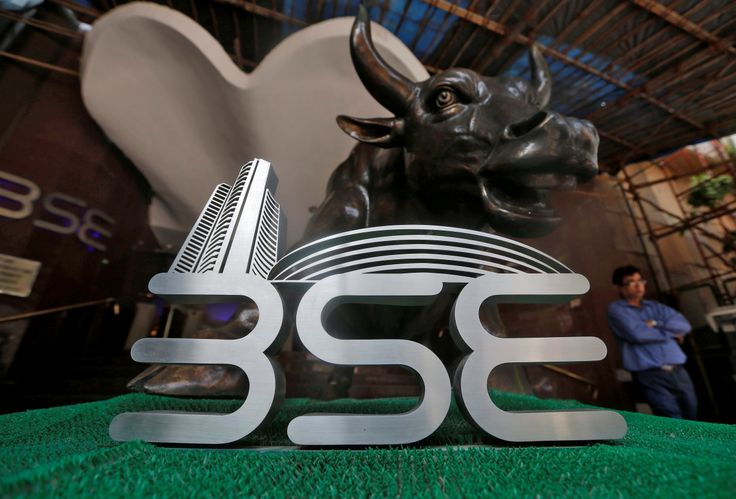 National Stock Exchange's Nifty index closed at a record high while BSE's Sensex closed at a two-year high on Tuesday as investors cheered the Bharatiya Janata Party's landslide victory in Uttar Pradesh.  The Sensex rose 496.40 points, or 1.71%, to 29,442.   #BJO #Nifty #Sensex #UP Elections