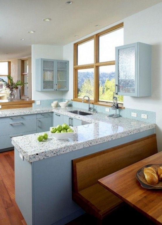 8 best Unique Kitchen Countertops Of Different Materials images on