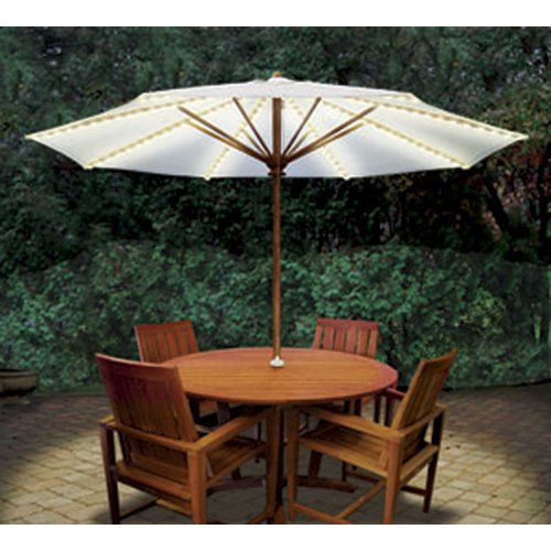 Attractive BRELLA LIGHTS® Patio Umbrella Lighting System With Power Pod