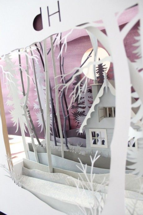 Helen Musselwhite's paper art - another view