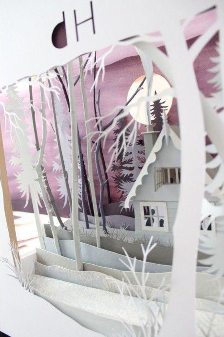 Helen Musselwhite's paper art