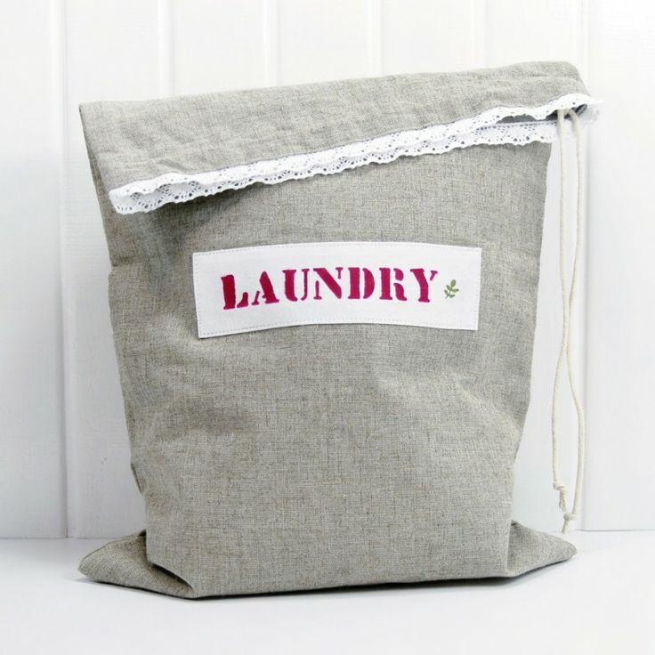 Çamaşır torbası, keten