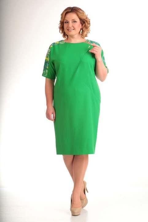 Платья для полных женщин белорусской компании Milana, весна-лето 2017