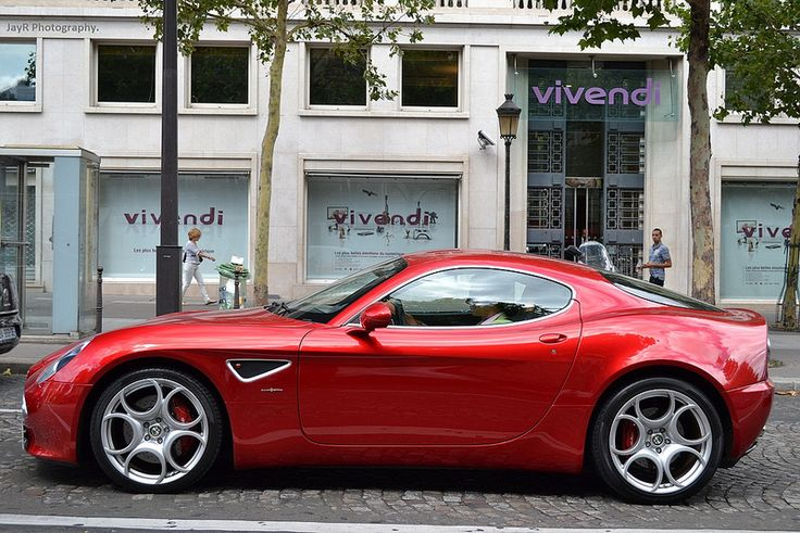 Alfa Romeo 8C #alfa Follow me on Pinterest.! @makayla9828
