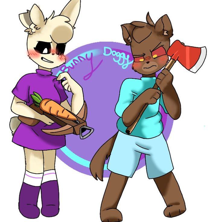 Bunny and Doggy :D in 2020 | Cute piggies, Piggy, Doggy