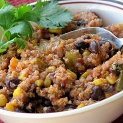 Quinoa and Black Bean Chili Allrecipes.com