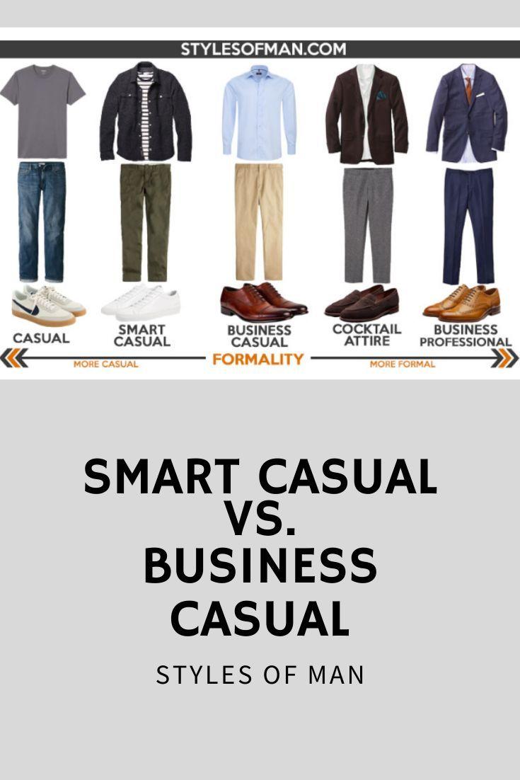 Men smart casual attire A Complete