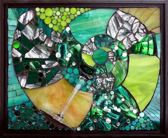 Kasia Polkowska: Wedding Goblet Mosaic