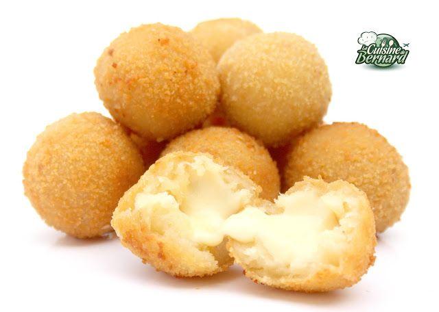La Cuisine de Bernard: Les Boulettes Frites au Fromage et Ma Soupe Froide de Carottes Alvalle