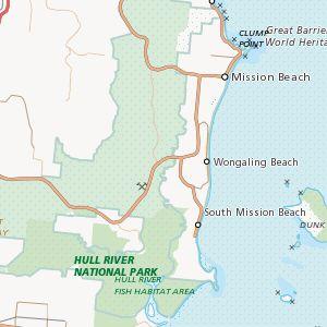 Bingil Bay camping area, Innisfail - Explore Australia
