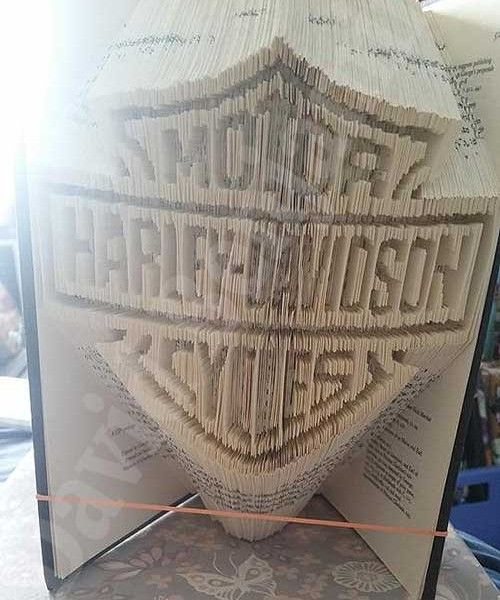 Combi Cut and Fold Harley Davidson Logo