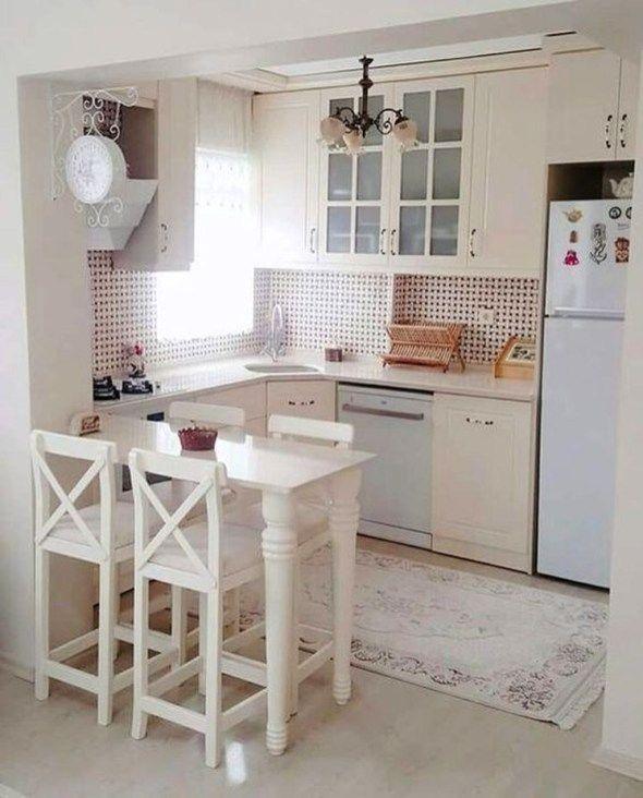 48 Beautiful Small Kitchen Design Ideas Small Kitchen Decor