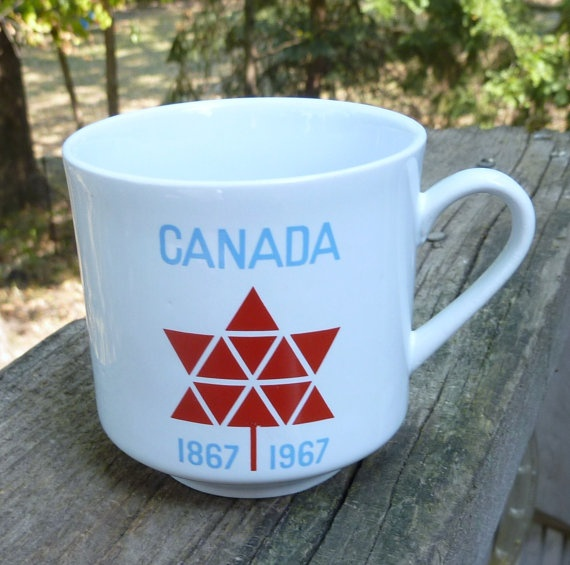Canada Centennial Celebration 1867 to 1967 by wemixandmatchvintage, $7.99