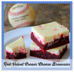 Red Velvet Cheesecake Brownies - Foodtastic Mom