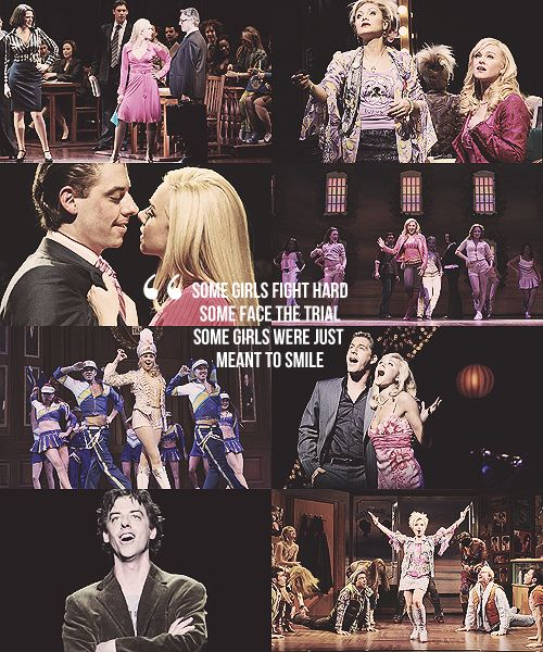 """If you can hear, can I just say how much I want you to stay...."" ""It's not up to me- just let me be legally blonde..."""
