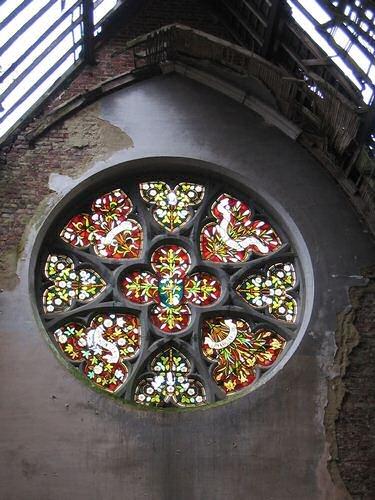 Glas in lood raam