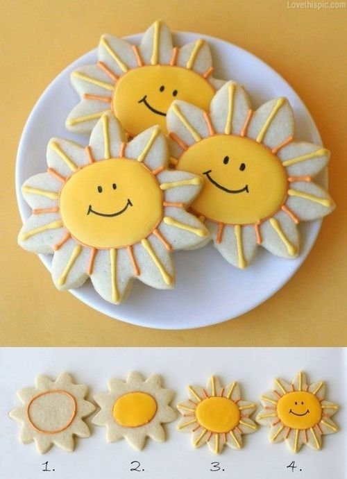 Sunshine Cookies Pictures, Photos, and Images for Facebook, Tumblr, Pinterest, and Twitter