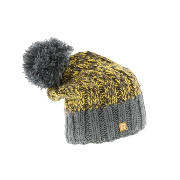 Bonnet Chiné Rmoutain Gris #bonnet #ski #mode #streetwear #urbanwear #snow #ski #neige #hiver sur @hatshowroom