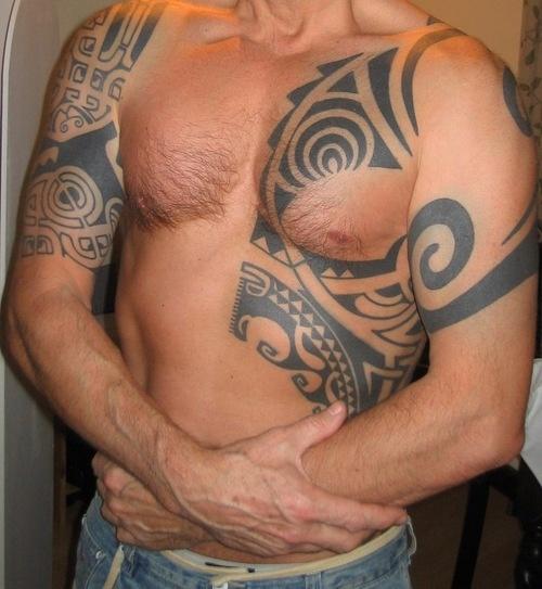 Amazing Tatoo For Men: 25+ Best Ideas About Men Tribal Tattoos On Pinterest