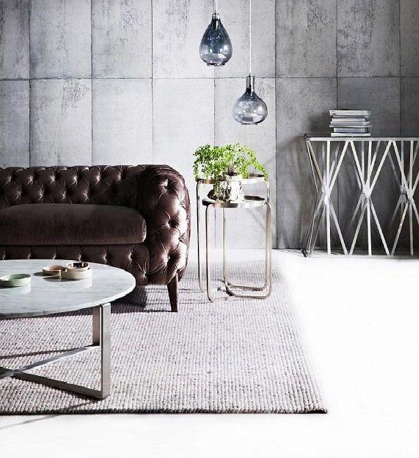 Chester Sofa, Deco Nest table & Console, Elle Marble Cross Coffee Table, Genie Pendant lights #globewest #glamour #chester #deco #elle #genie www.globewest.com.au