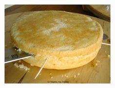 Stella's Κουζινομπερδέματα: Πώς να κόψετε και να γεμίσετε το Παντεσπάνι για μια Τούρτα με Ζαχαρόπαστα