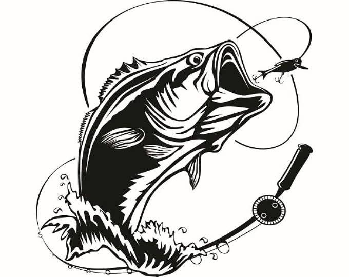 Fishing Rod Small Drawing Google Search Tatoo Tatuagem Desenho