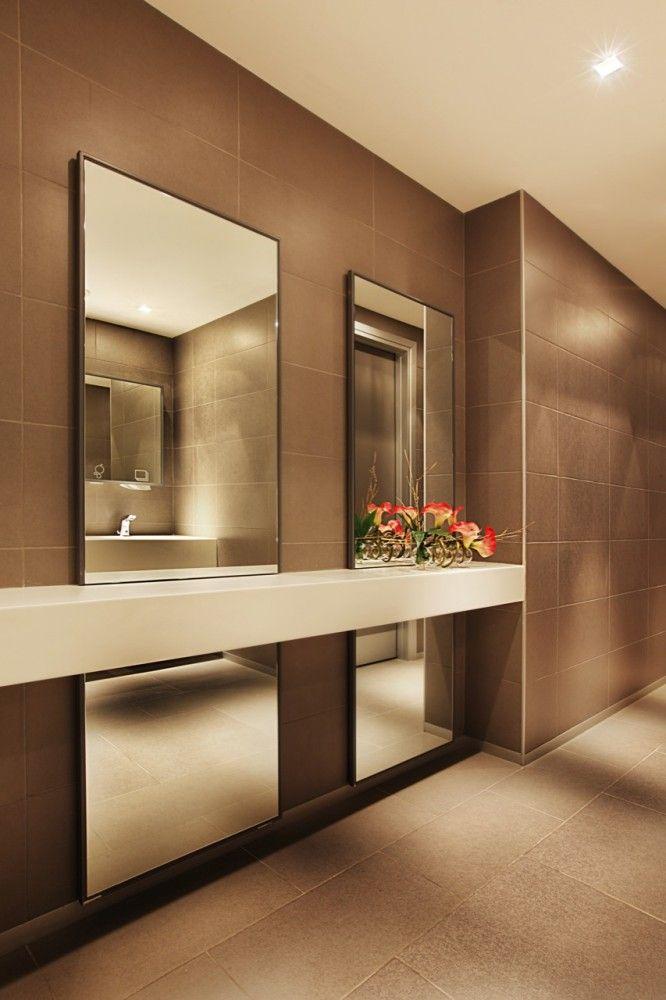 17 best Public Restrooms images on Pinterest | Bathrooms, Half ...