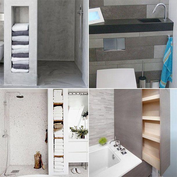 25+ beste ideeën over ruimtebesparende badkamer op pinterest, Badkamer